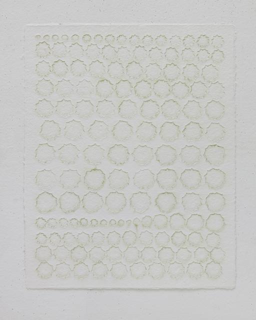 , 'Vegetable Prints - Marrow Squash Natural #1,' 2012, STPI