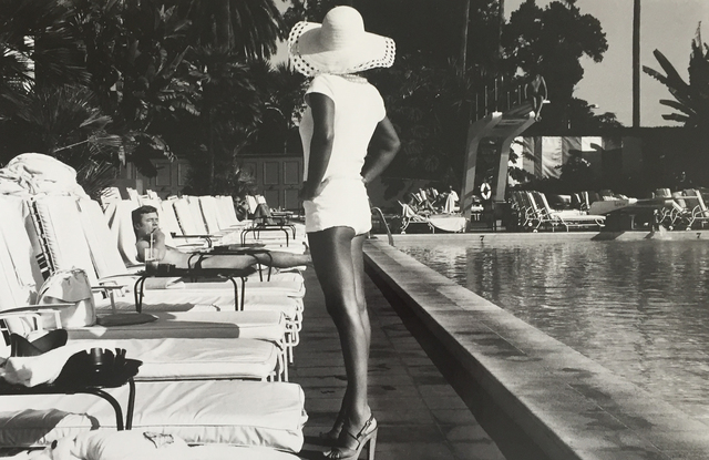 Anthony Friedkin, 'Woman by the Pool', 1975, Elizabeth Houston Gallery