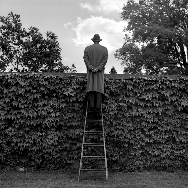 , 'A.J. Looking Over Ivy-Coverd Wall,' 1994, Gilman Contemporary