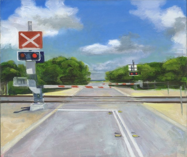 , 'Level Crossing South Beach,' 2018, Margaret River Art Gallery