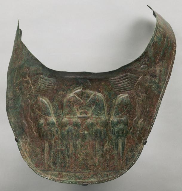 'Breastplate', ca. 480 BCE, J. Paul Getty Museum