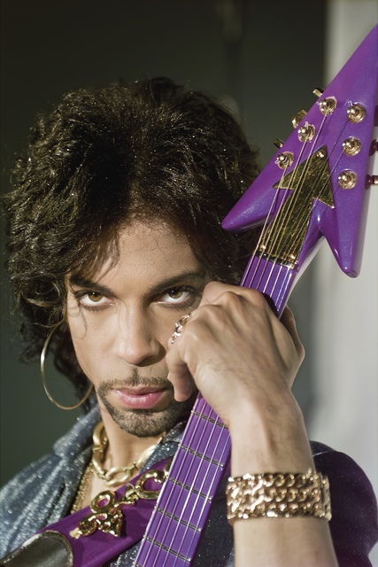 , 'Prince with Love Symbol guitar,' ca. 1990, Eduard Planting Gallery | Fine Art Photographs