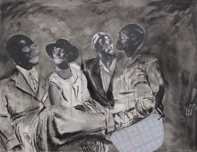, 'Ka morago a kgwedi,' 2018, Tyburn Gallery