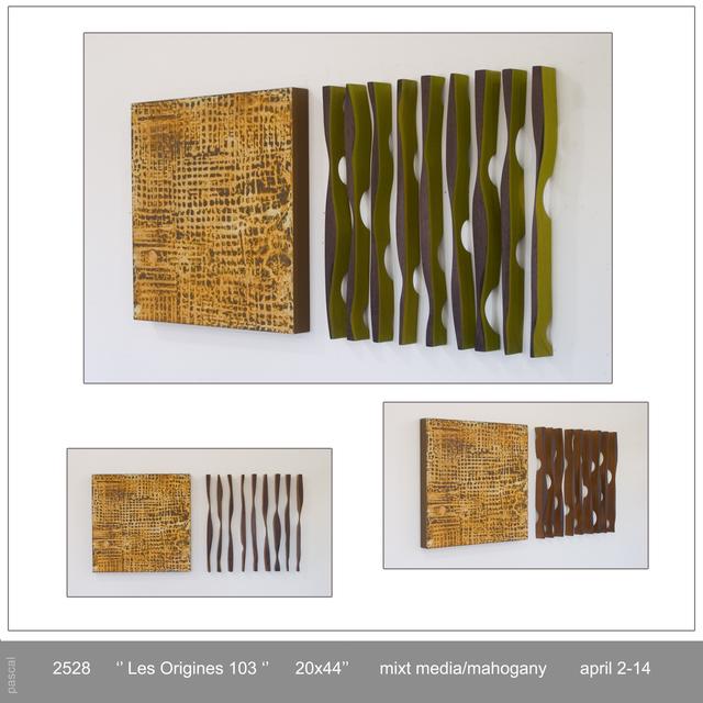 , 'LES ORIGINES 103,' 2014, GF Contemporary