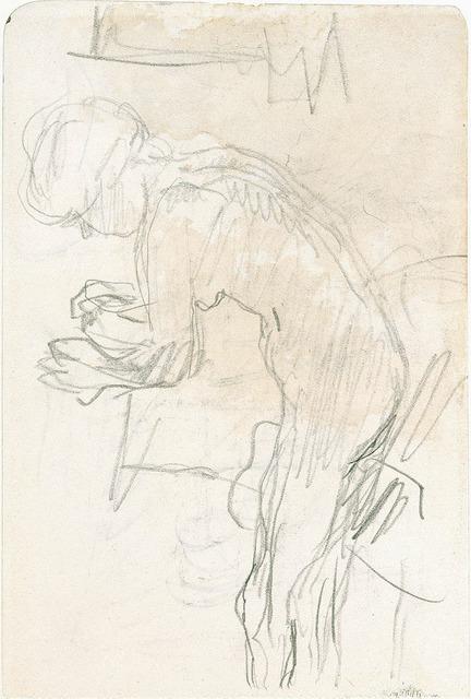 , 'Nu à toilette,' ca. 1912, Jill Newhouse Gallery