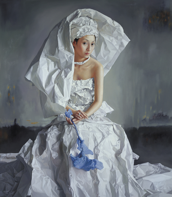 , 'White Paper Bride, the City in Mist,' , Tanya Baxter Contemporary
