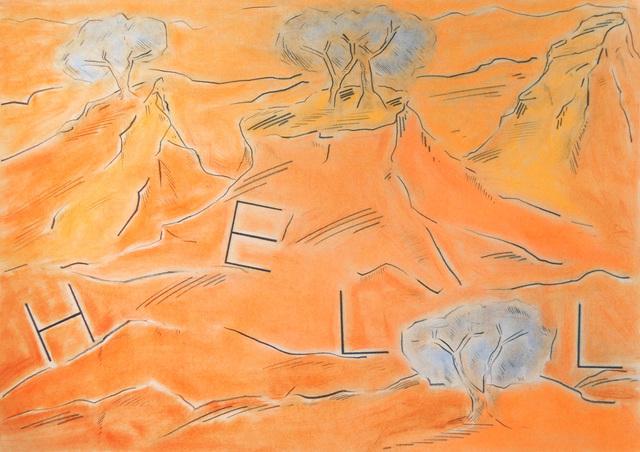 , 'Untitled (Hell),' 2019, Christine König Galerie