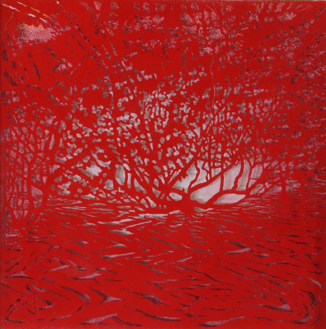 Andrew Tomkins, 'Red Cut ', 2019, Art Atrium