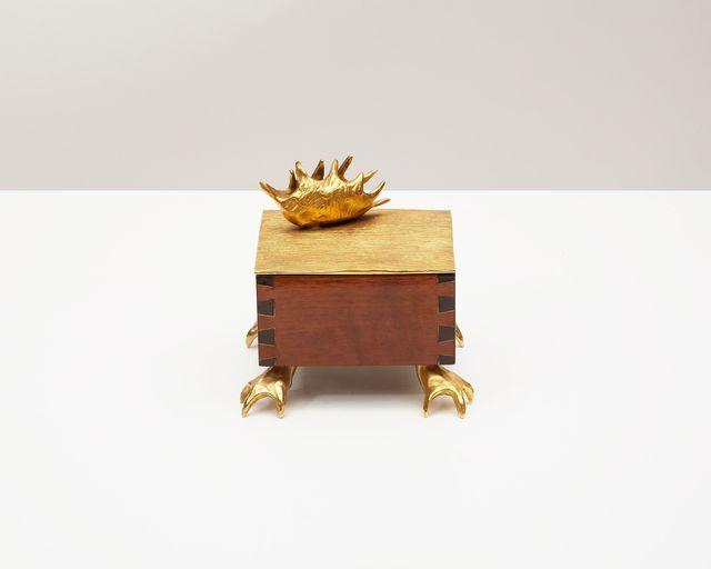 "Aldus, '""Dionaea,"" Decorative Wood and Bronze Box ', 2013, Maison Gerard"