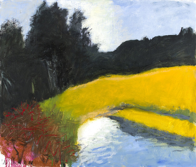 , 'POND OFF BARROW ROAD (SMALL VERSION),' 2011, Jerald Melberg Gallery
