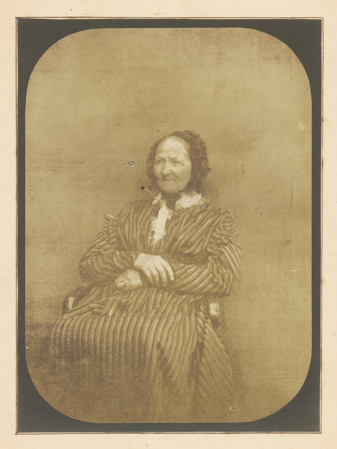 Hippolyte Bayard, 'Seated Woman', ca. 1847, James Hyman Gallery