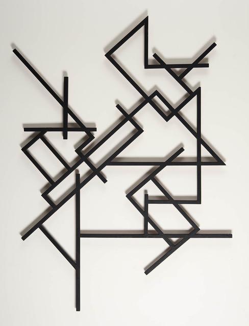 , 'Black linear action,' 1949-1951, Galería de las Misiones