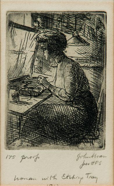 John Sloan, 'Three Works', Skinner