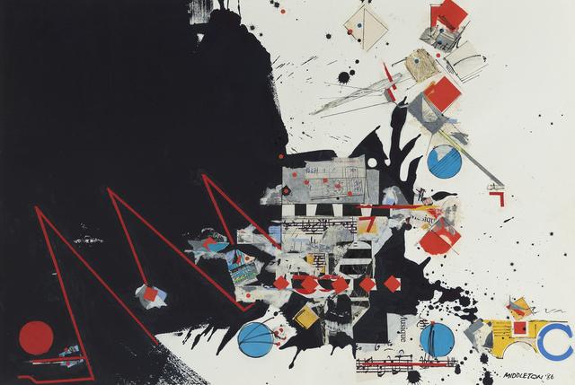 , 'Musique,' 1986, Gerald Peters Gallery