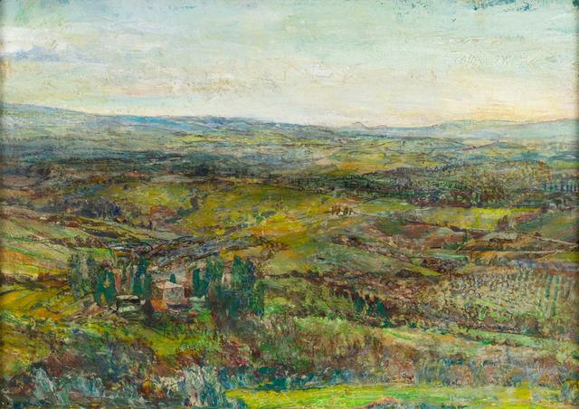, 'Tuscan Hills,' 2018, Valley House Gallery & Sculpture Garden