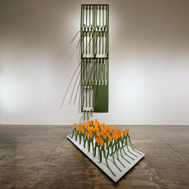 , 'Forty-Nine Un-Wildflowers: The California Poppy,' 2018, Gallery 16