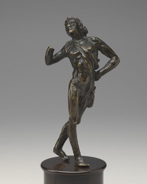 Giovanni Francesco Rustici, 'A Dancing Faun', model c. 1515, cast possibly mid, 16th century, Sculpture, Bronze, National Gallery of Art, Washington, D.C.