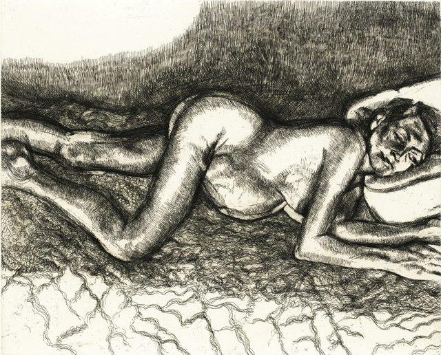 Lucian Freud, 'Before the Fourth', 2004, Print, Etching, ARCHEUS/POST-MODERN
