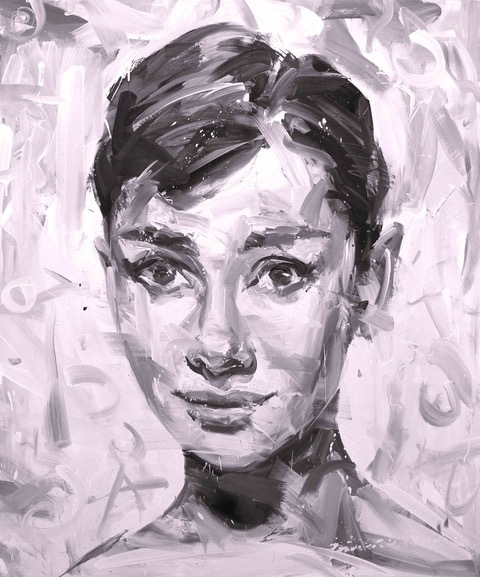 Paul Wright, 'Audrey In Purple ', 2017, Maddox Gallery