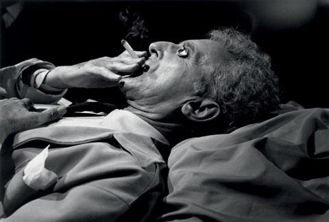 , 'Jean Cocteau backstage before »the resurrection«, Les Baux,' 1959, Bernheimer Fine Art
