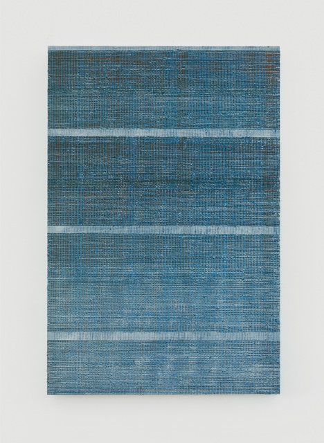 , 'Four Lines - Grey, Blue & Brown,' 2017, 10 Chancery Lane Gallery