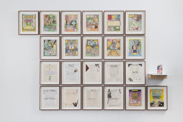 , 'Mount Moon Comic,' 2015, Galerie Mehdi Chouakri