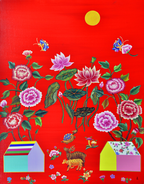 Sook Jung Kim, 'Affection, 오랜여행-정', 2016, Gallery Jari Art