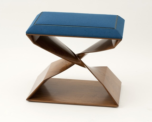 , 'Sculptural Hand Carved Stool,' 2012, Maison Gerard