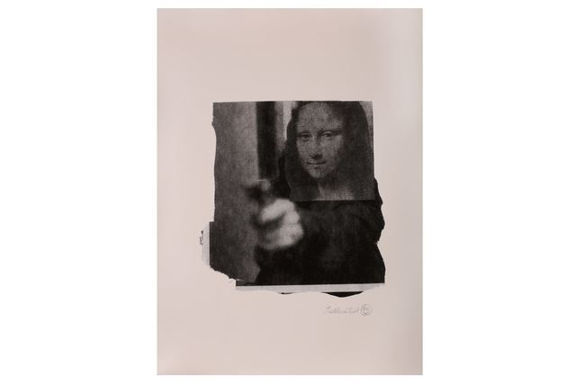Nick Walker, 'Mona Shot (Black and White)', 2006, Chiswick Auctions