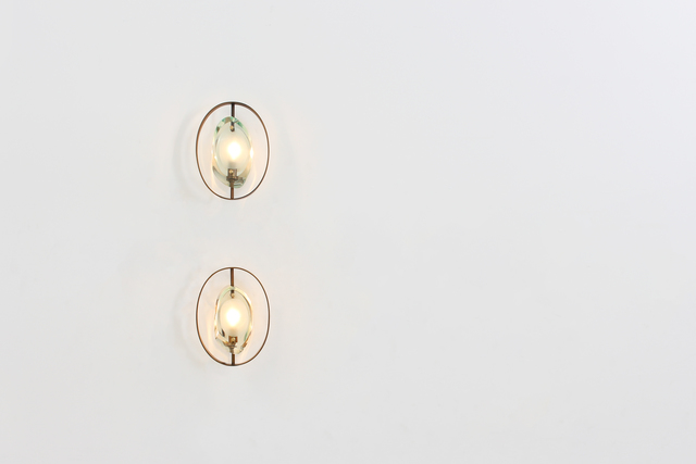 , 'Pair of wall sconces by Max Ingrand for FontanaArte, MODEL 2240,' 1961, Dimoregallery