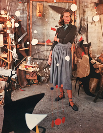 , 'Model in Alexander Calder's Studio,' 1948, Staley-Wise Gallery