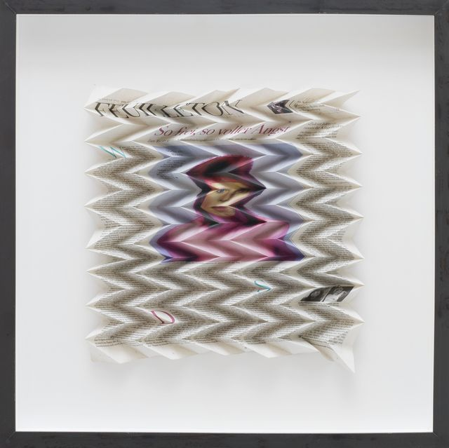 , 'DIE ZEIT, FEUILLETON, 14. JANUAR 2016,' 2016, Galerie Elisabeth & Klaus Thoman