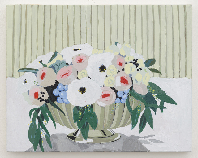 , 'White Arrangement,' 2017, Joshua Liner Gallery