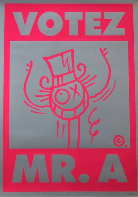 Mr Andre, 'Votez Mr. A', Digard Auction