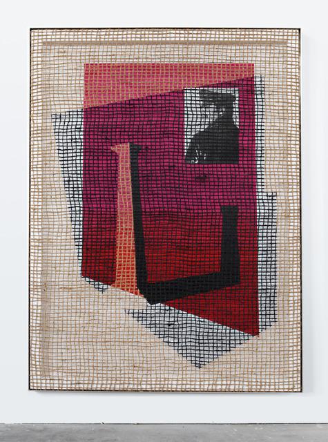 , 'Floorplan Desire Painting,' 2015, Galerie Peter Kilchmann