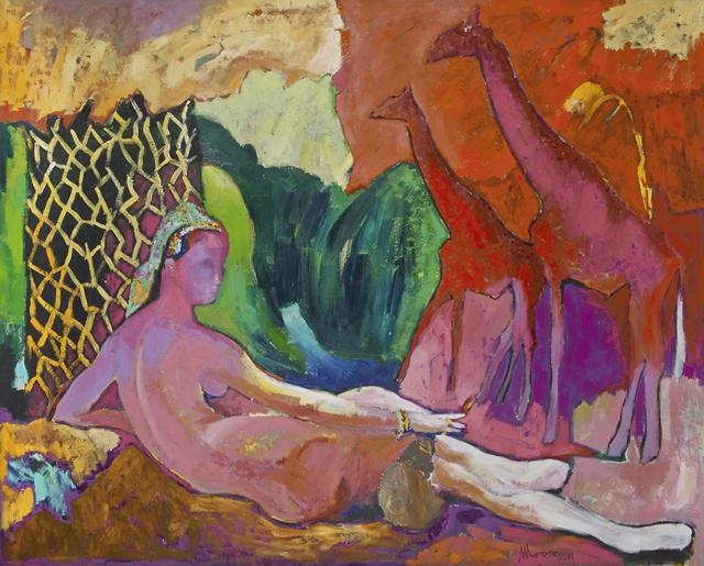 , 'Nude with Giraffes,' 2014, Salamatina Gallery