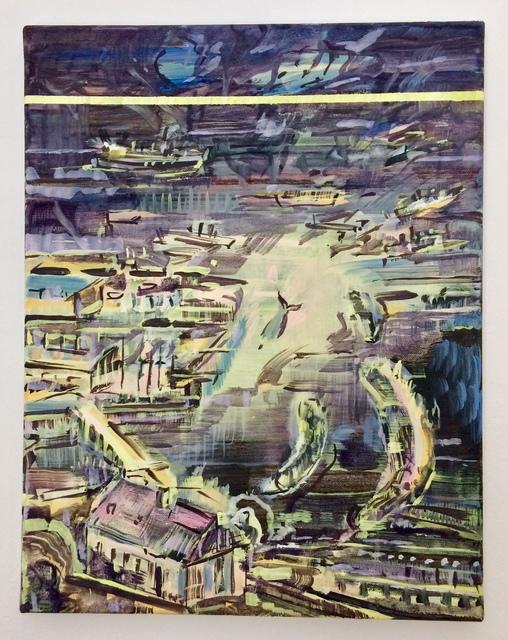 Adam Adach, 'Moby Dick Yellow Line', 2019, Painting, Oil on canvas, BWA Warszawa