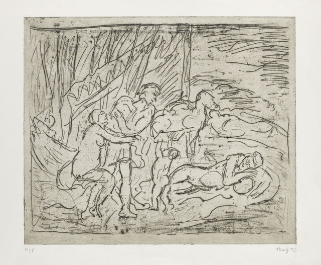 , 'From Poussin 'Cephalus and Aurora',' ca. 1990s, Annely Juda Fine Art