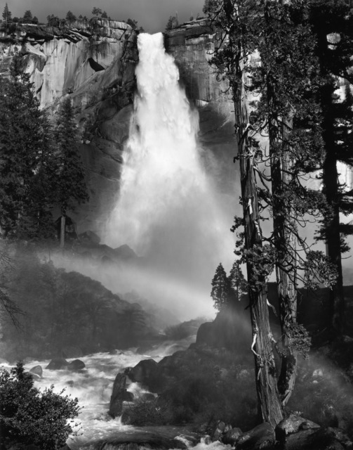 , 'Nevada Fall, Rainbow, Yosemite National Park, California,' ca. 1947, The Ansel Adams Gallery
