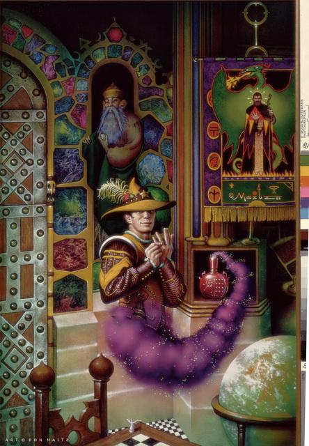 , 'Wizard in a Bottle,' 1986, IX Gallery