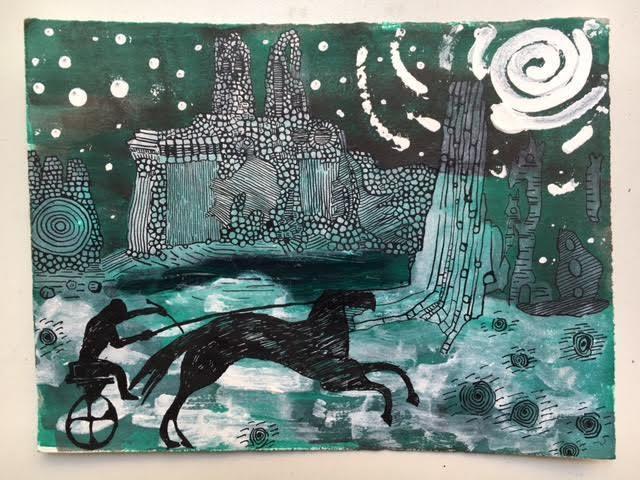 , 'Horse and Rider,' , Ro2 Art