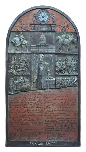 , 'Texas Door,' 2011-2013, Valley House Gallery & Sculpture Garden