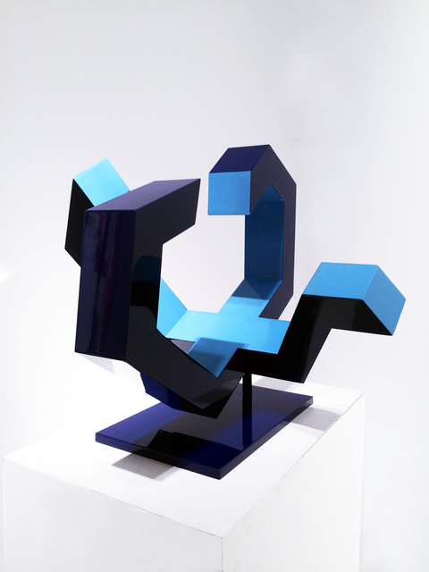 , 'Vessel No. 2 (Light and Dark Blue),' 2016, Galerie Olivier Waltman | Waltman Ortega Fine Art