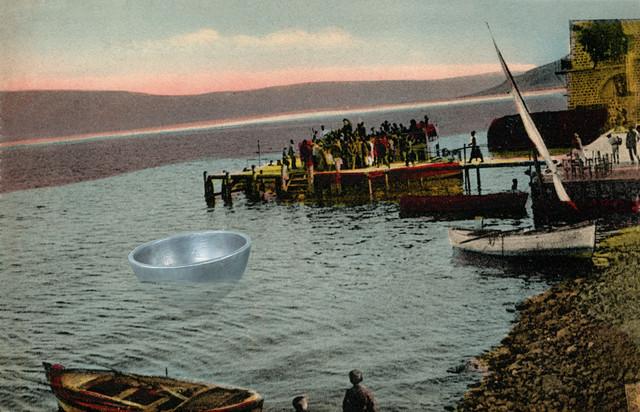 Daniel Rothbart, 'Sea of Galilee 1905_2019', 2019, Galerie Depardieu Art Contemporain