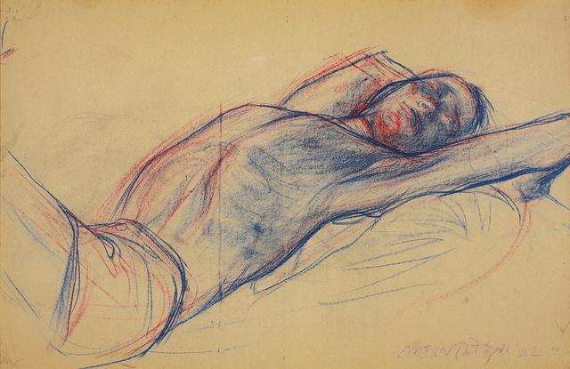 Jogen Chowdhury, 'Untitled (Figure)', 1962, DAG