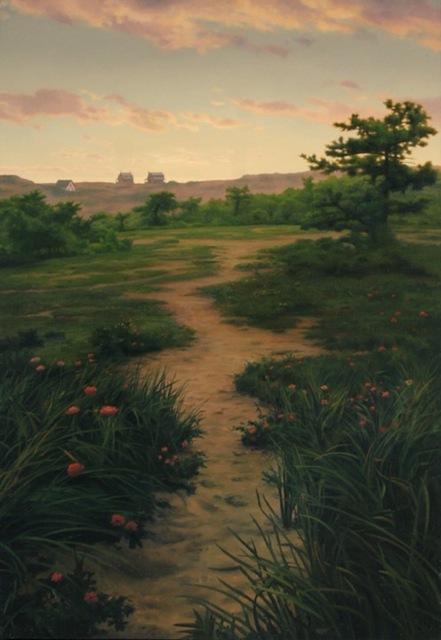 Scott Prior, 'Path to the Beach Houses', 2004, William Baczek Fine Arts