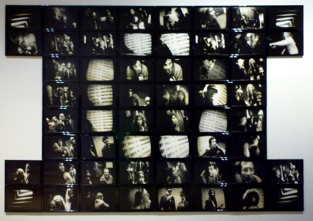 , 'Interrogations sur l'art. Discours sur l'art. - Polyptych,' 1975, espaivisor - Galería Visor