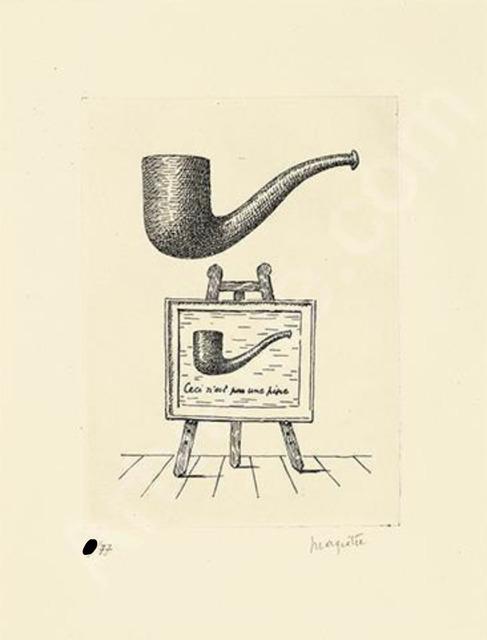 , 'Ceci n'est pas une pipe (Les Deux Mystères) ,' 1966, De Re Gallery