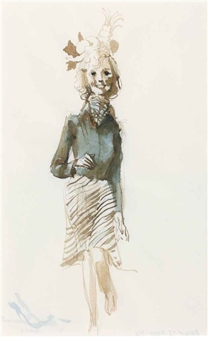 John Currin, 'Secretary with Still Life', 2001, Rita Krauss Fine Art FLA.
