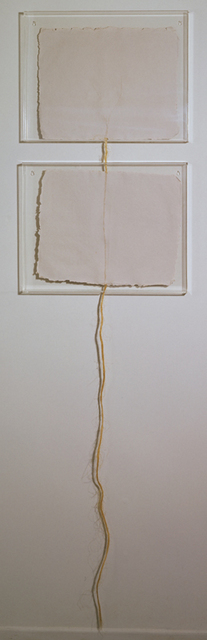 Robert Rauschenberg, 'Page 4', 1974, Sculpture, Handmade paper with twine, Gemini G.E.L. at Joni Moisant Weyl